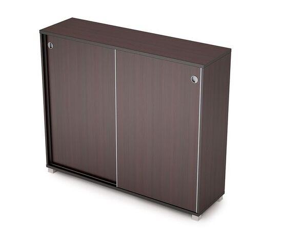 Шкаф-купе для документов средний удлиненный AVANCE ALSAV 6ШК.014 Венге 1437х400х1205 (без замка), Цвет товара: Венге
