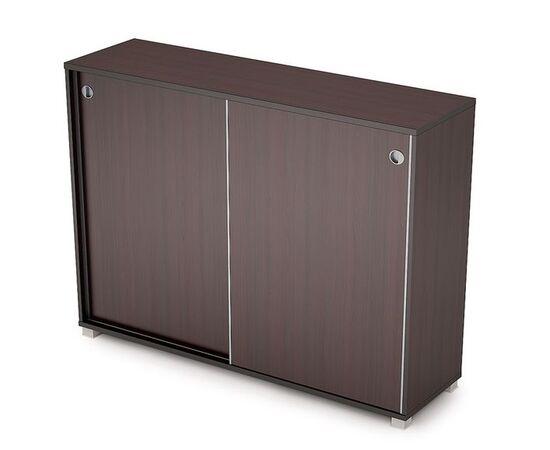 Шкаф-купе для документов средний длинный AVANCE ALSAV 6ШК.019 Венге 1637х400х1205 (без замка), Цвет товара: Венге