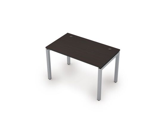 Стол прямой письменный на металлокаркасе (сечение 50х50,парящий эффект) AVANCE ALSAV 6М.508 Венге 1200х700х750, Цвет товара: Венге