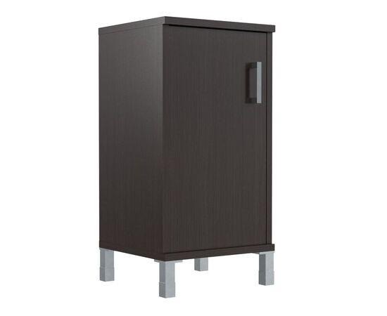Шкаф для документов с левой дверкой низкий В-411.2L Венге магия Skyland Born 475х450х920, Цвет товара: Венге магия