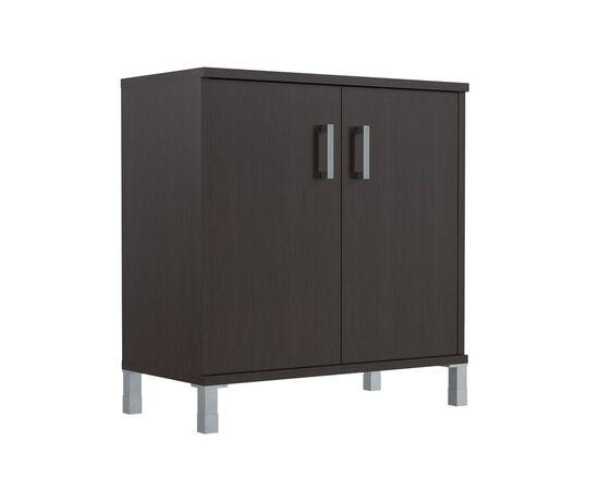 Шкаф для документов с дверьми низкий широкий В-410.2 Венге магия Skyland Born 900х450х920, Цвет товара: Венге магия
