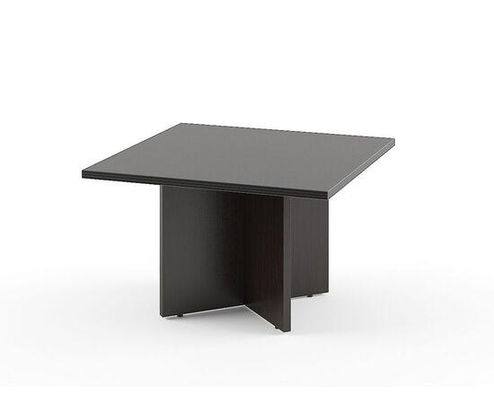 Стол для переговоров в кабинет руководителя TСT 1212 Венге 1200х1200х750 Torr, Цвет товара: Венге