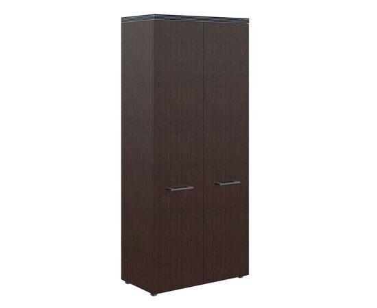 Шкаф для документов с глухими дверьми и топом THC 85.1 Венге 850х1930х430 Torr, Цвет товара: Венге