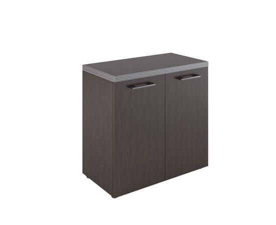 Шкаф для документов с глухими малыми дверьми и топом TLC 85.1 Венге 850х795х430 Torr, Цвет товара: Венге