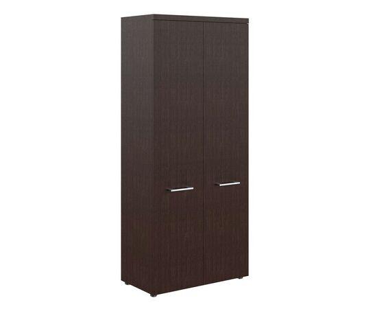 Шкаф для документов с глухими дверьми и топом THC 85.1 Венге 850х430х1930 Torr Z, Цвет товара: Венге магия