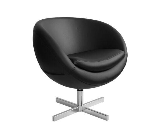 Дизайнерское кресло из экокожи A686 черное Beonmebel, Цвет товара: Черный