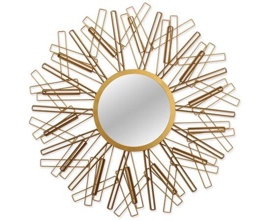 Зеркало настенное  в металлической раме Abstract (Абстракт) Art-zerkalo