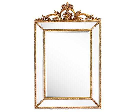 Зеркало настенное в раме Ambren Gold (Амбрен) Art-zerkalo