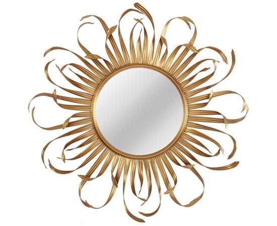 Зеркало настенное в металлической раме Bavaro (Баваро) Art-zerkalo