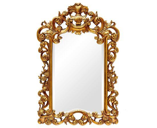 Зеркало настенное в резной раме Bogeme Gold (Богема) Art-zerkalo