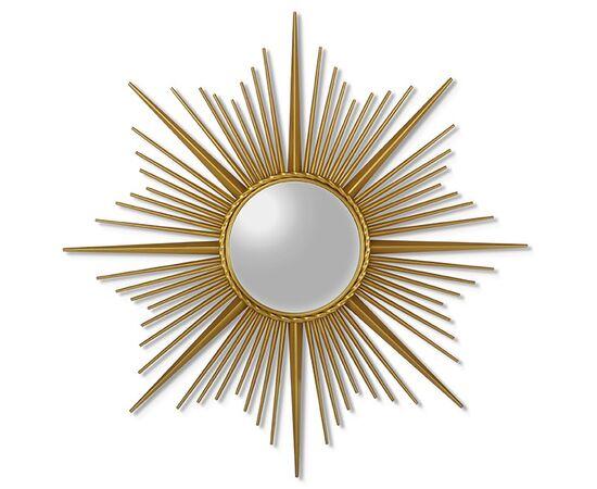 Зеркало-солнце в металлической раме Cassiopeia (Кассиопея) Art-zerkalo