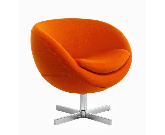 Дизайнерское кресло A686 (реплика PLANET6) оранжевое Beonmebel