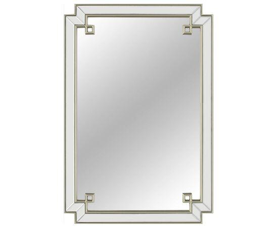 Зеркало настенное в раме York Silver (Йорк) Art-zerkalo