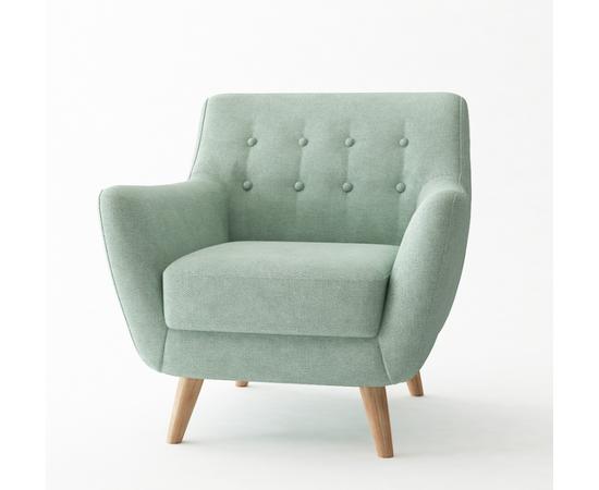 Кресло мягкое Picasso бирюзовый Bradex Home, Цвет товара: Бирюзовый