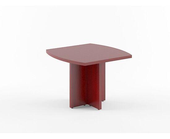 Стол для переговоров В-123 Бургунди Skyland Born 1000х1000х750, Цвет товара: бургунди