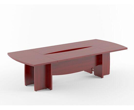 Стол для переговоров B-122 Бургунди Skyland Born 3000х1300х750, Цвет товара: бургунди
