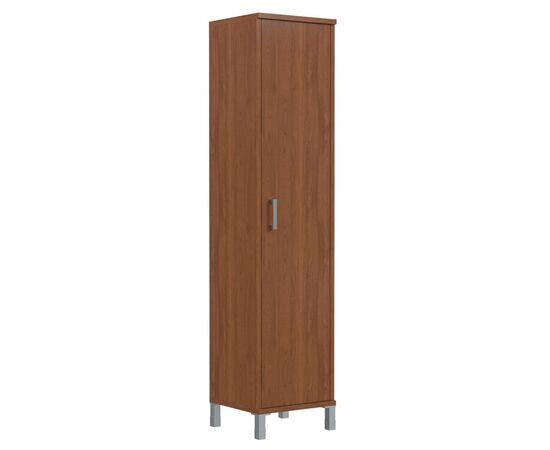 Шкаф-колонка высокая с глухой дверью для документов В-431.6 Орех Даллас Skyland Born 475х435х1904, Цвет товара: Орех гарда
