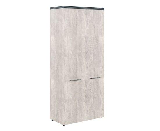 Шкаф для документов с глухими дверьми и топом THC 85.1 Дуб Каньон 850х1930х430 Torr, Цвет товара: Дуб Каньон