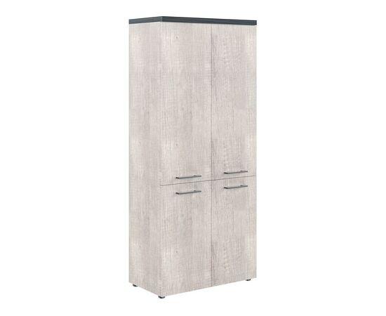 Шкаф для документов с глухими средними и малыми дверьми THC 85.3 Дуб Каньон 850х1930х430 Torr, Цвет товара: Дуб Каньон