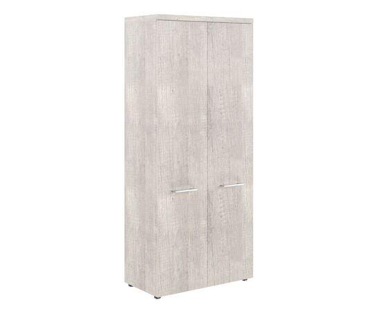 Шкаф для документов с глухими дверьми и топом THC 85.1 Дуб Каньон 850х430х1930 Torr Z, Цвет товара: Дуб Каньон