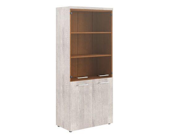 Шкаф для документов комбинированный с топом THC 85.2 Дуб Каньон 850х430х1930 Torr Z, Цвет товара: Дуб Каньон