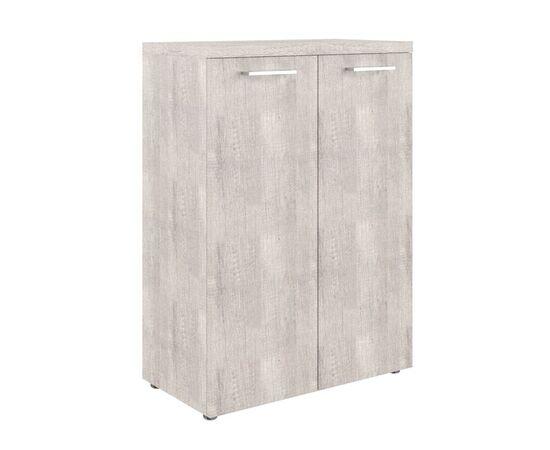 Шкаф для документов с глухими средними дверьми и топом TMC 85.1 Дуб Каньон 850х430х1165 Torr Z, Цвет товара: Дуб Каньон