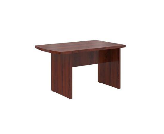 Брифинг-приставка с опорой к столу руководителя В-302.2 Бургунди Skyland Born 1300х800х750, Цвет товара: бургунди
