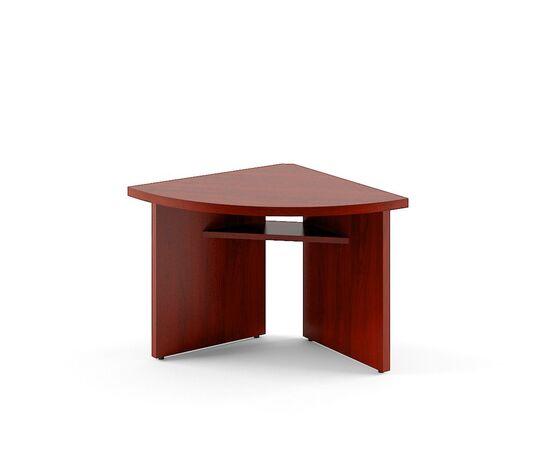Элемент угловой переговорного стола В-306 Бургунди Skyland Born 840х840х750, Цвет товара: бургунди